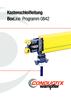Kastenschleifleitungen BoxLine Programm 0842