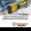 Preview: ProShell – Tragprofil für Schleifleitungssysteme für Regalbediengeräte und Verschiebewagen