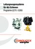 Leitungswagensysteme für 4kt-Schienen Programm 0270 | 0280