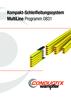 Kompakt-Schleifleitung Programm 0831