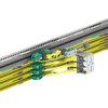 ProfiDAT®compact bietet 3-in-1-Funktionalität: Es garantiert eine sichere Datenübertragung, dient als Schutzleiter und kann um ein optisches Positionierungssystem erweitert werden