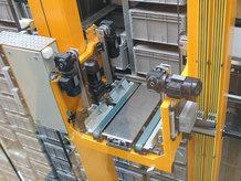 Energie- und DAtenübertragungssysteme für die Elektrifizierung zu AS/RS