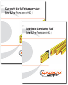 "Katalog ""Kompakt-Schleifleitungssystem MultiLine"" Programm 0831"