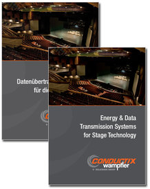 """Katalog """"Energie- und Datenübertragungs-Systeme für die Bühnentechnik"""""""