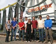 Die neue Auszubildenden der Conductix-Wampfler AG.