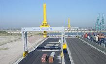 Stromzuführung für das Hubwerk von 4 automatisierten Stapelkranen (ASC)