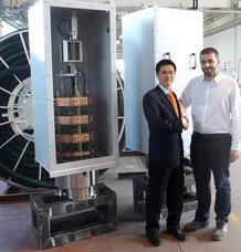 Zwei Schleifringkörper-Systeme für Kohlekraftwerk in China