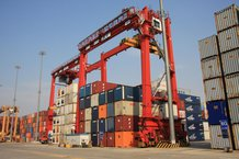 E-RTG TM Container Kran