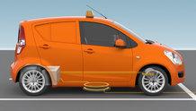 IPT-Charge | e-mobility Fahrzeug Ladung