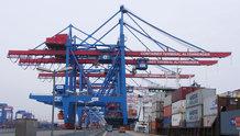 Angetriebenes Großleitungssystem für Highspeed Containerkrane