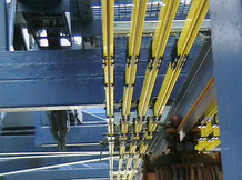 Energie- und Datenübertragung für STS Container Kran (Seilgezogene Hauptkatze)