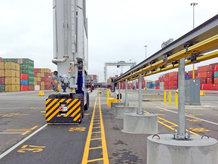 E-RTG TM Container Kran [Testinstallation]