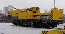 Videoübertragung in Schienenmobilkran