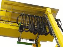 Leitungswagensystem an einem Portalkran