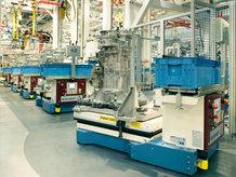 IPT Floor ist die beste Energieübertragungssystemlösung für die Elektrifizierung von fahrerlosen Transportsystemen