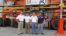 Erstes E-RTG Schleifleitungssystem in Südamerika